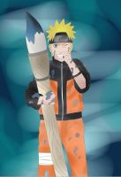 Naruto Painter x3 by JadeBarett
