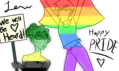 Our pride by Iamtheturtleartist