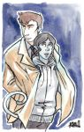 Ben and Ferr by KoriMichele