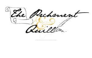 Parchment and Quill Logo 4 by XenatheConqueror