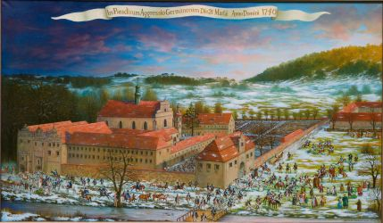 The Prussian attack on Paradyz in 1740 by matej16