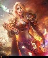 Jaina - The Shattered Soul by TamplierPainter