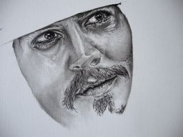 Johnny Depp WIP 2 by Anthony-Woods