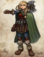 Astrid Hofferson - HTTYD 2 by TheLivingShadow