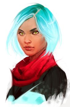 Ryder by CrystalGrazianoArt