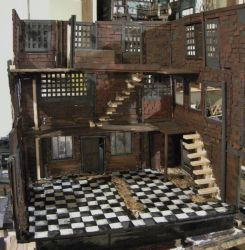 Abandoned Dollhouse Project, Day Two by ShayHahn