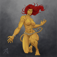 Cheetah - Post Flashpoint version by kazmosis