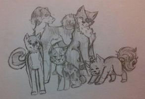 Juliets New Family by HowlForLife