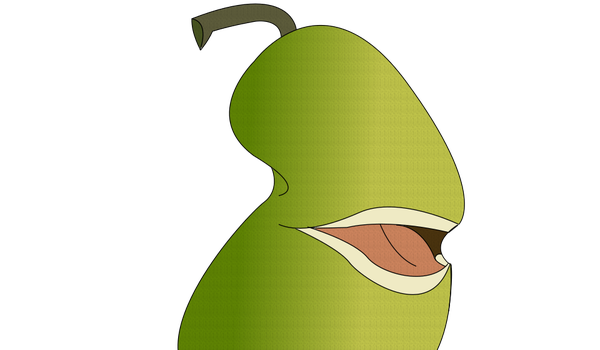 DR Sprite: Salamanca, The Biting Pear by TotalDramaXtremist