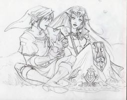 RoughSketch_TMTS_Loz by Aerawen-Vanhouten