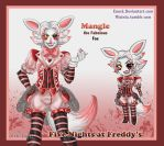 Mangle the Fabulous Male Fox by Enock