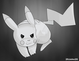 Pokemon - Pikachu by 20John20