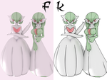 Gardevoir FK ( Cycles and Anime Style) by Fk-A-Zero