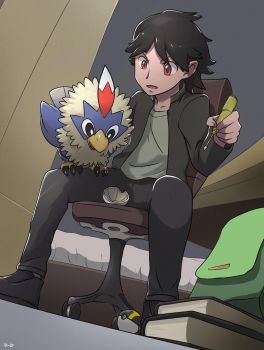 Commission: Tinkering with Rufflet by mark331