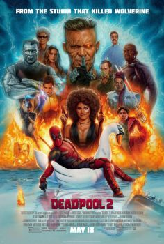 New Official Deadpool 2 Final Poster by Artlover67