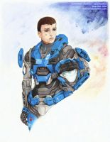 Halo Reach: Kat by Lady-Owl