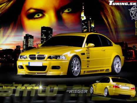 Tuned BMW E46 M3 by TuningmagNet