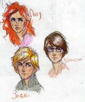Clary Jace Simon by Dinoralp
