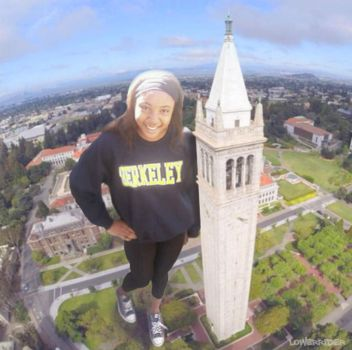 Giantess at Cal by lowerrider