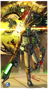 Necron By Daylight of A Dying Star by LordCarmi