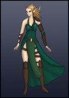Original Character Concept - Ellyssia by Saza-Productions