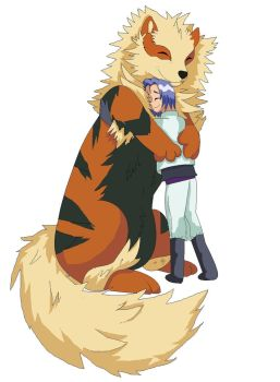 [Pokemon] A Boy And His Arcanine by Handere-chan