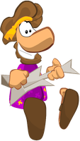 REQUEST: The Musician - Rayman Origins Style by Cuddlesnowy