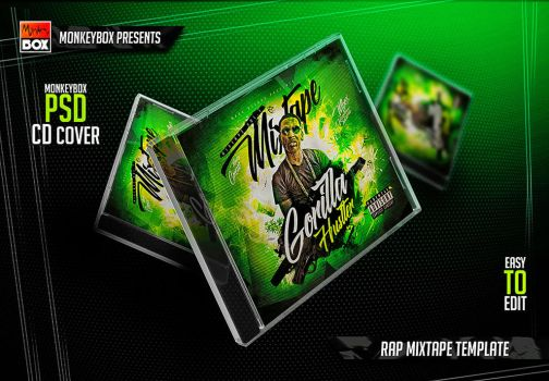 Rap Mixtape Template by AndyDreamm