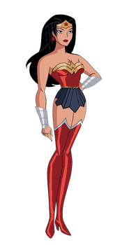 Diana (Action JLU) by Axel-Droga