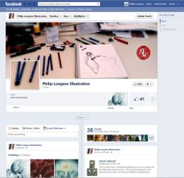My new Facebook page! by PhillyBoyWonder
