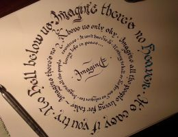 Imagine by Calligraphism