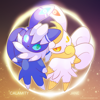 COMMISSION: Meowstic by SeviYummy