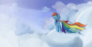 Leaving Her Cares on the Ground by DarkFlame75