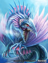Water dragon by LusiaNanami