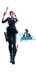 RE Revelations Jill Valentine Png 1 by xGamergreaserx