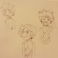 3 Slick sketches NSFW (well not really lol)  by Nickiplier