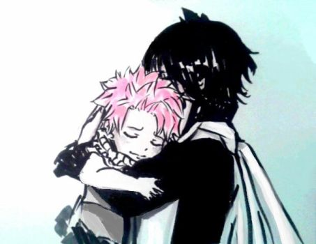 fairy tail : Natsu and Zeref by BakaAden