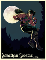 The Gentleman Joestar by dkirbyj