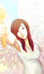 Christina Grimmie: Pass the Mic WIP by peore