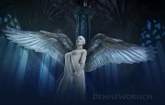 Angelus Blue by DeniseWorisch