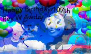 Happy Birthday Awdry by princessofvernon