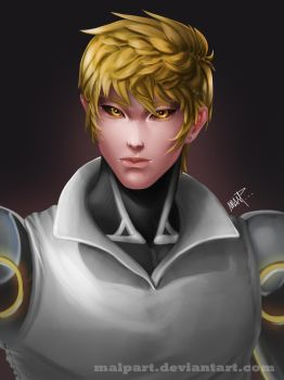 Genos - One Punch Man by MALPart