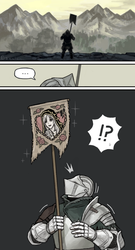 Small Lothric Banner by emlan