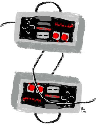 Nintendoodle Old School by pernobassist