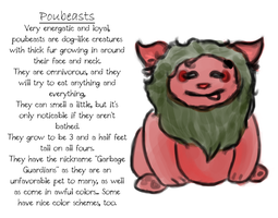 Poubeasts by DentistChicken