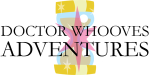 Doctor Whooves Adventures Logo by Alkonium