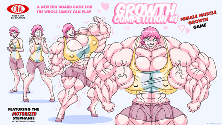 Growth Competition The Board Game. by Atariboy2600