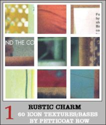 Rustic Charm Icon Textures III by petticoatrow