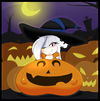 Pumpkin Patch by AngelTheCatgirl