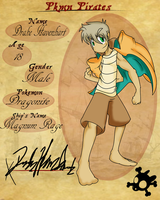 PKMN Pirates App: Drake Havenhart by NeoroticMind